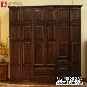 全实木衣柜 橡木定制定做美式欧式家具衣柜
