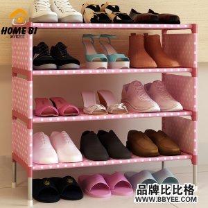 家世比宿舍防尘鞋架子非实木创意多层简易